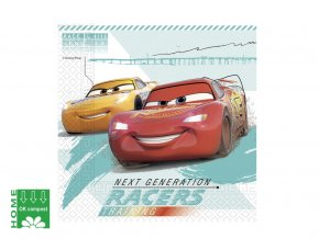 eng pl Lunch Napkins Cars 33 cm 20 pcs 42738 1