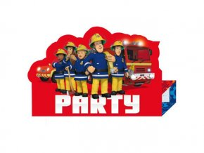 eng pl Fireman Sam Stand up Invites Envelopes 8 pcs 25528 2