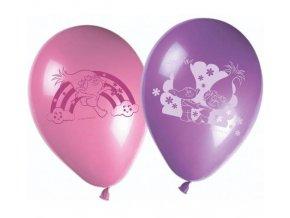 eng pl Trolls latex balloons 28 cm 8 pcs 26167 1