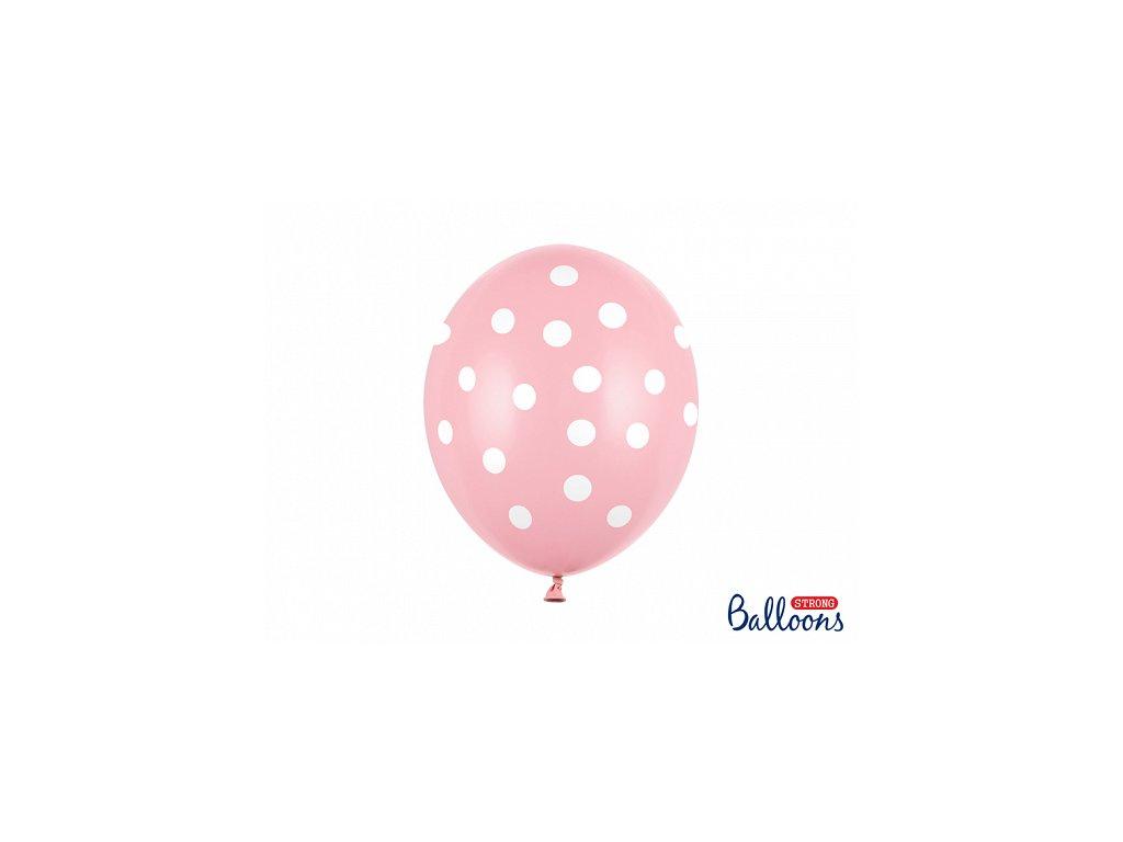 balonky s puntiky rozuve