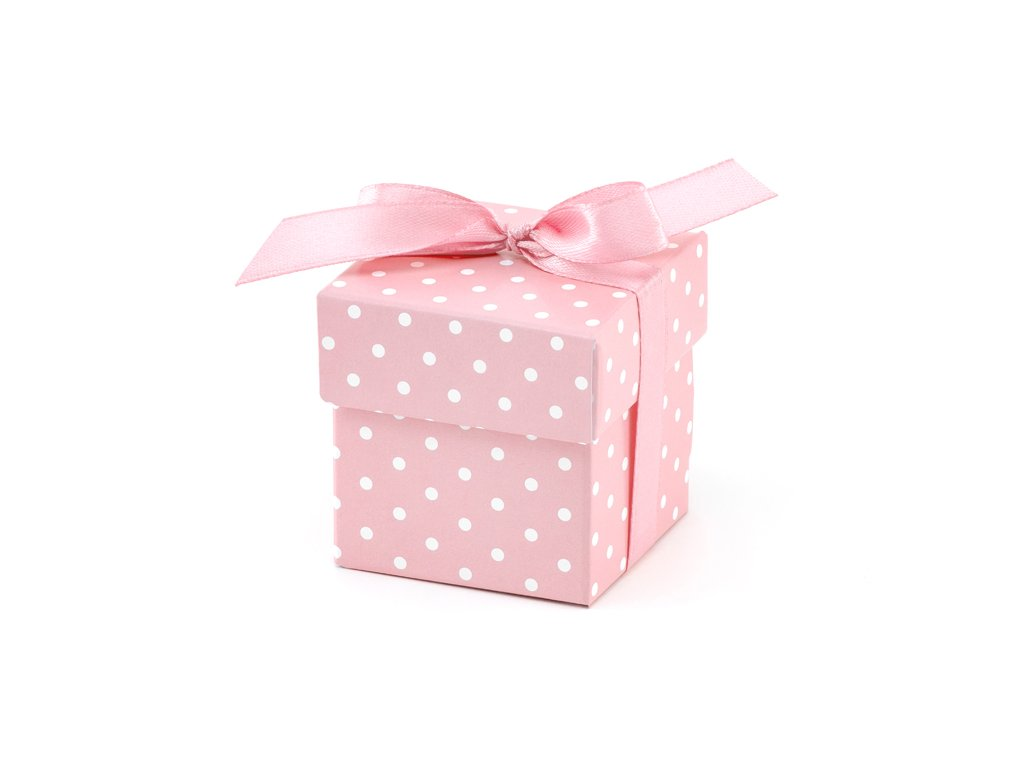 darkova krabicka ruzova