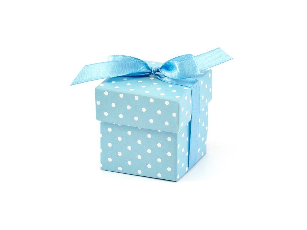 darkova krabicka modra