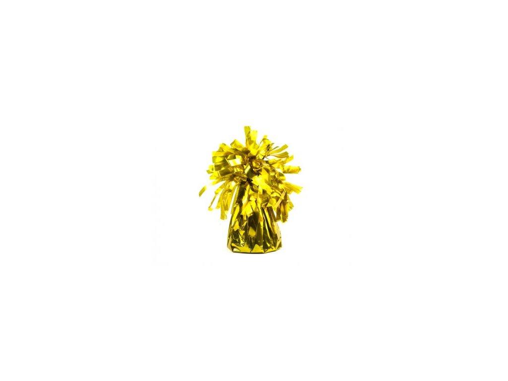 tezitko na balonky zlute
