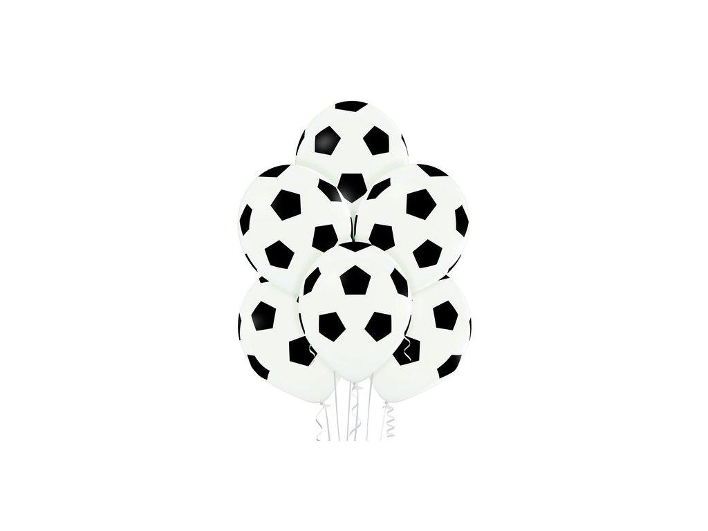 Balónky fotbalový míč 30cm