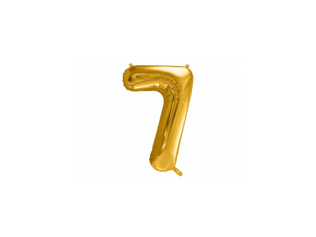 velke balonky cisla 7