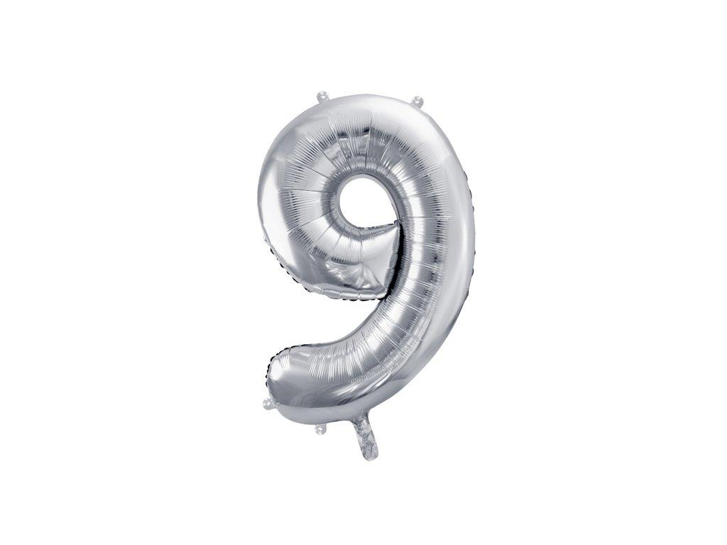 balonky cislo 9