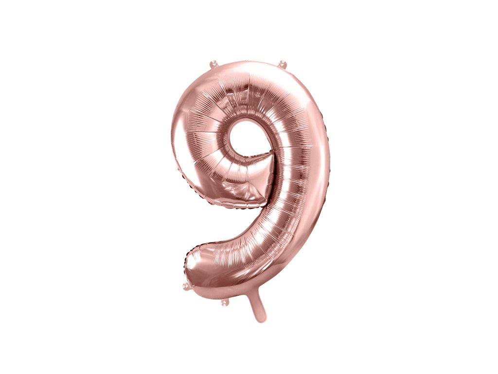balonek velke cislo 9