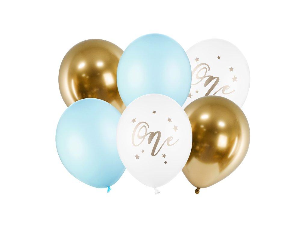 balonkovy buket one modry