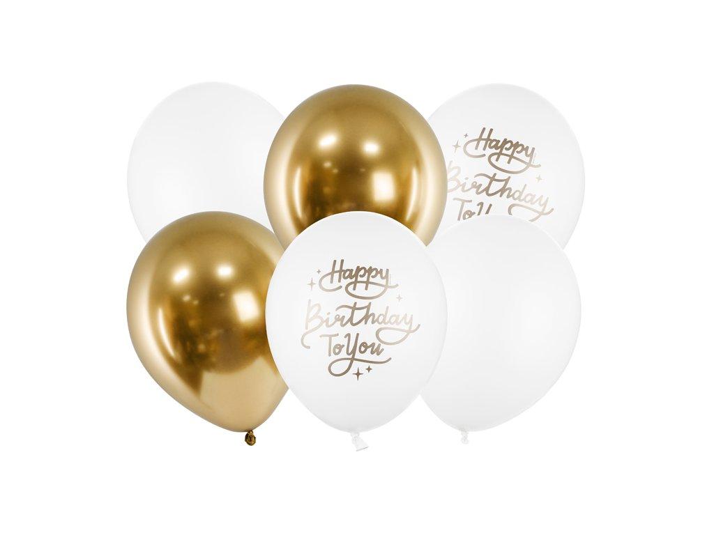 balonkovy buket happy birthday