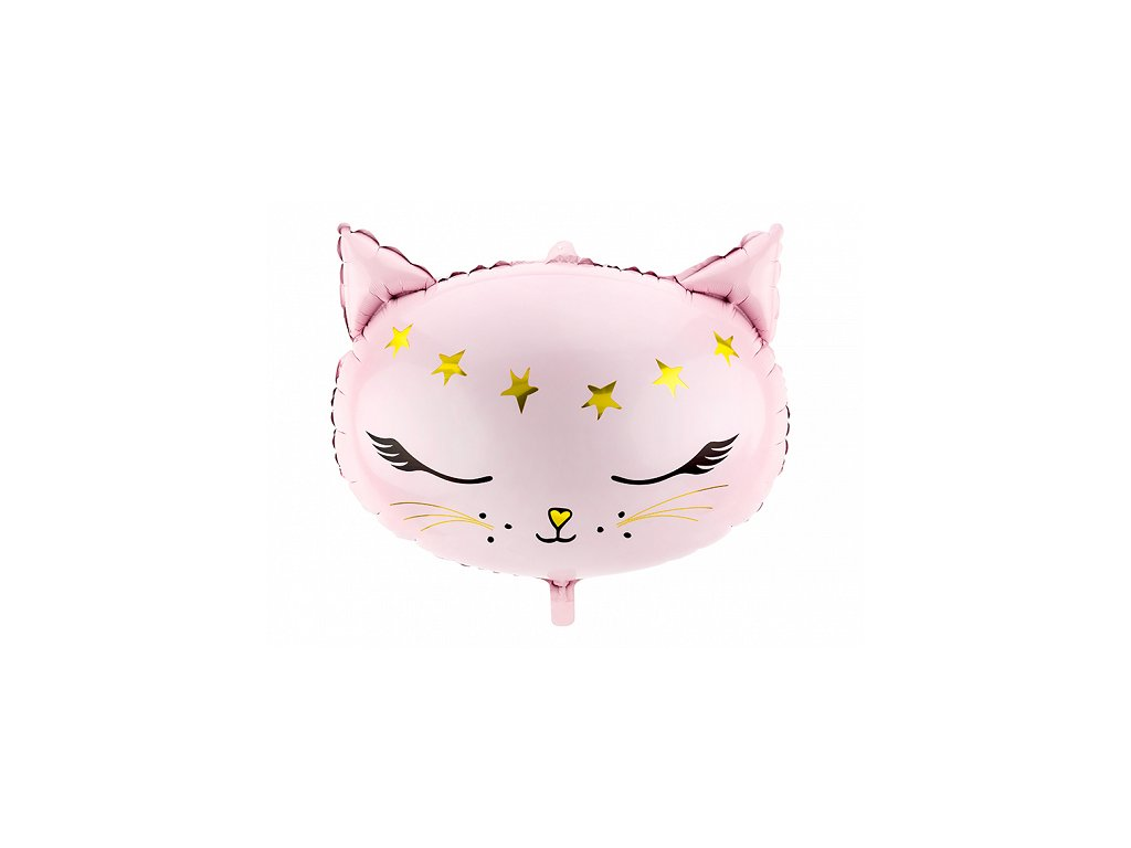 foliovy balonek kocicka