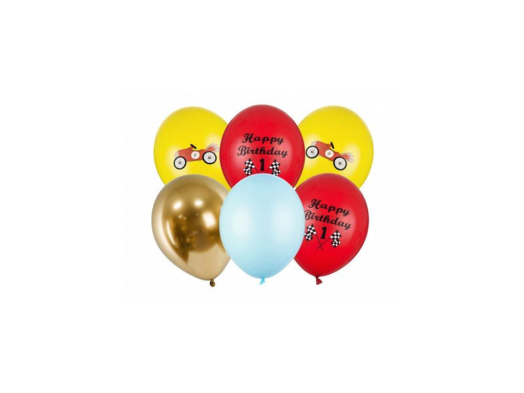 balonkovy buket 1 narozeniny