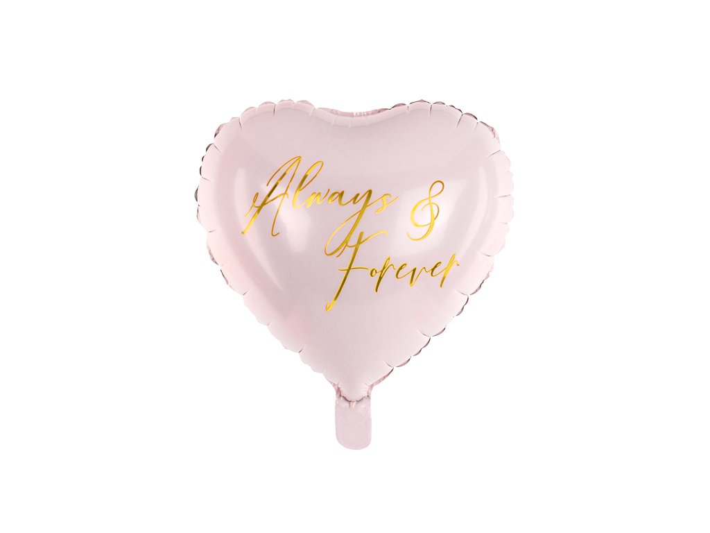 foliovy balonek always forever