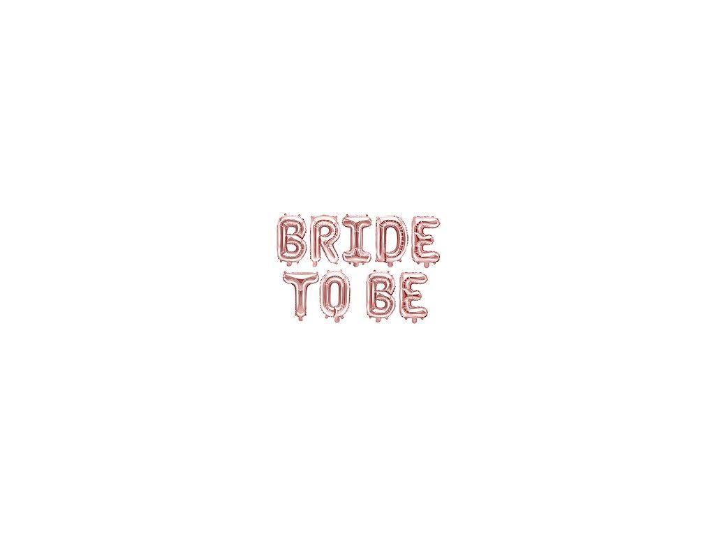 foliove balonky bride to be