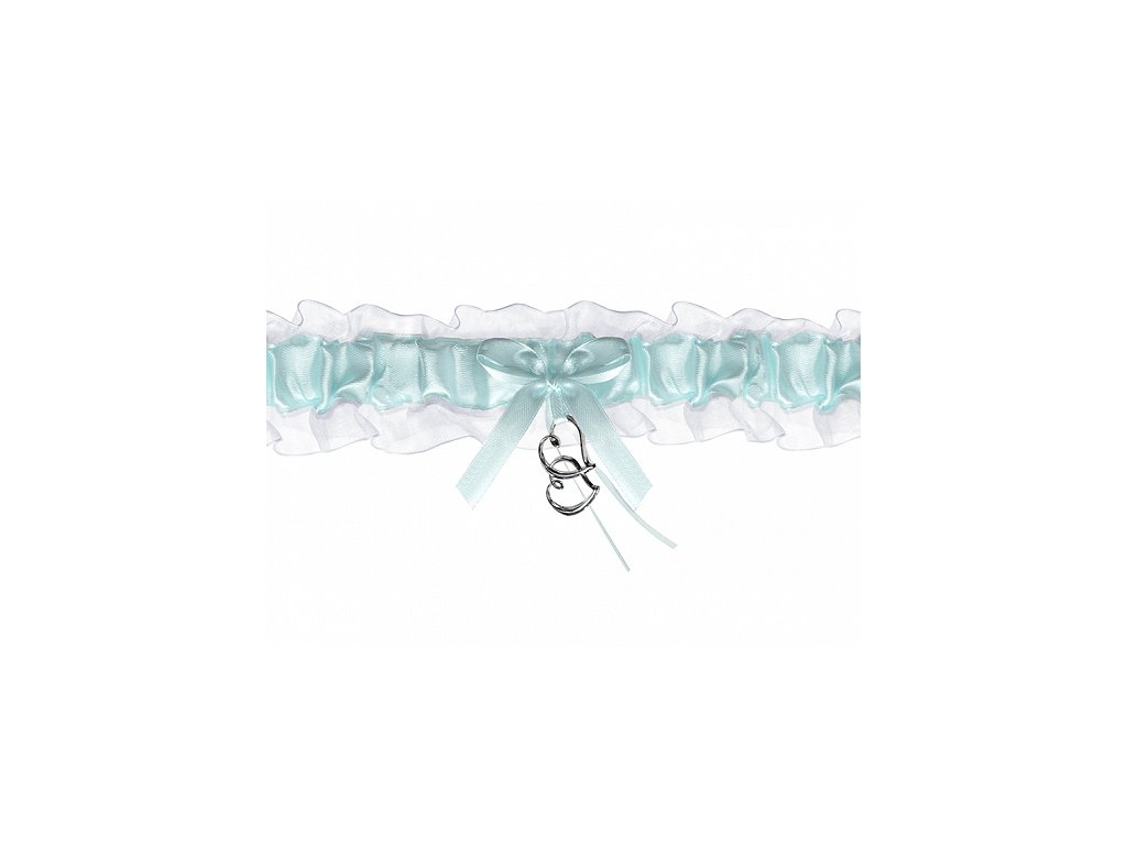 Svatební podvazek s priveskem PDW401101