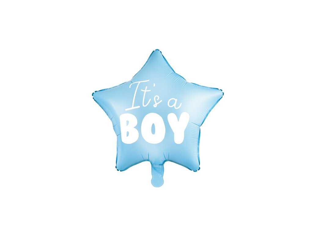 balonky baby shower its boy