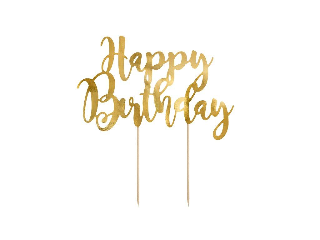 zapich na dort happy birthday