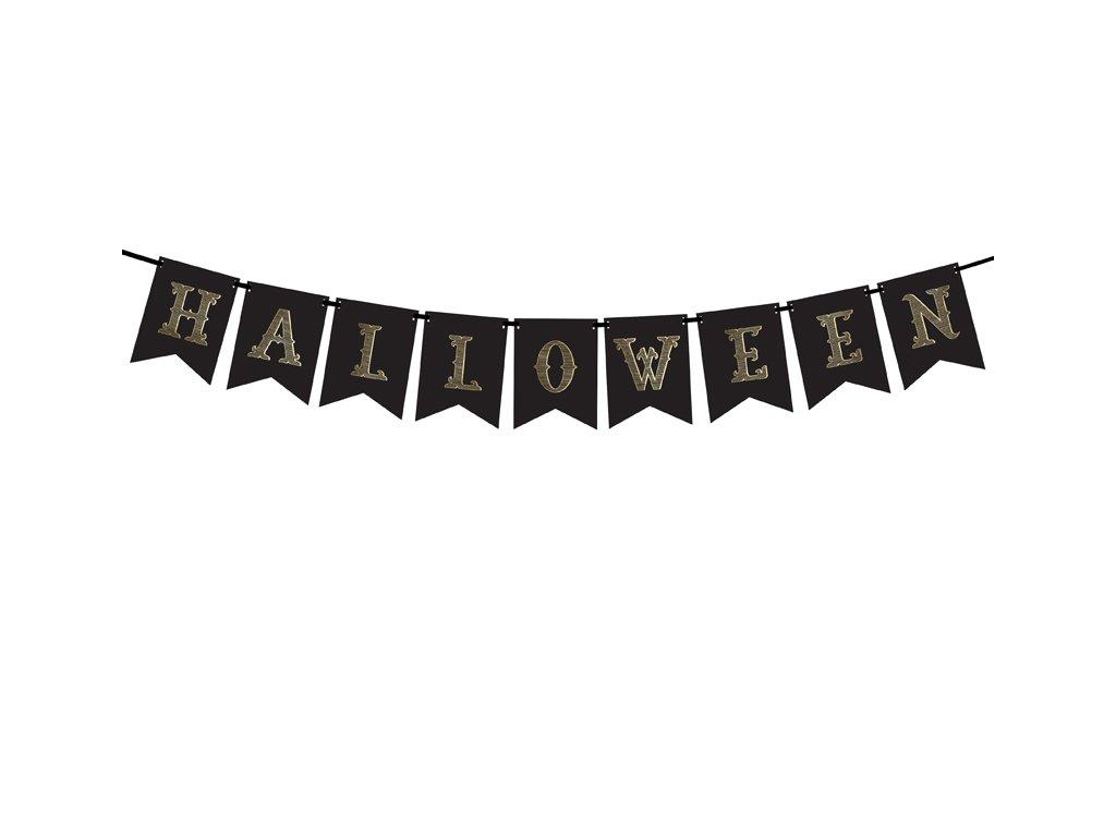 banner halloween party dekorace