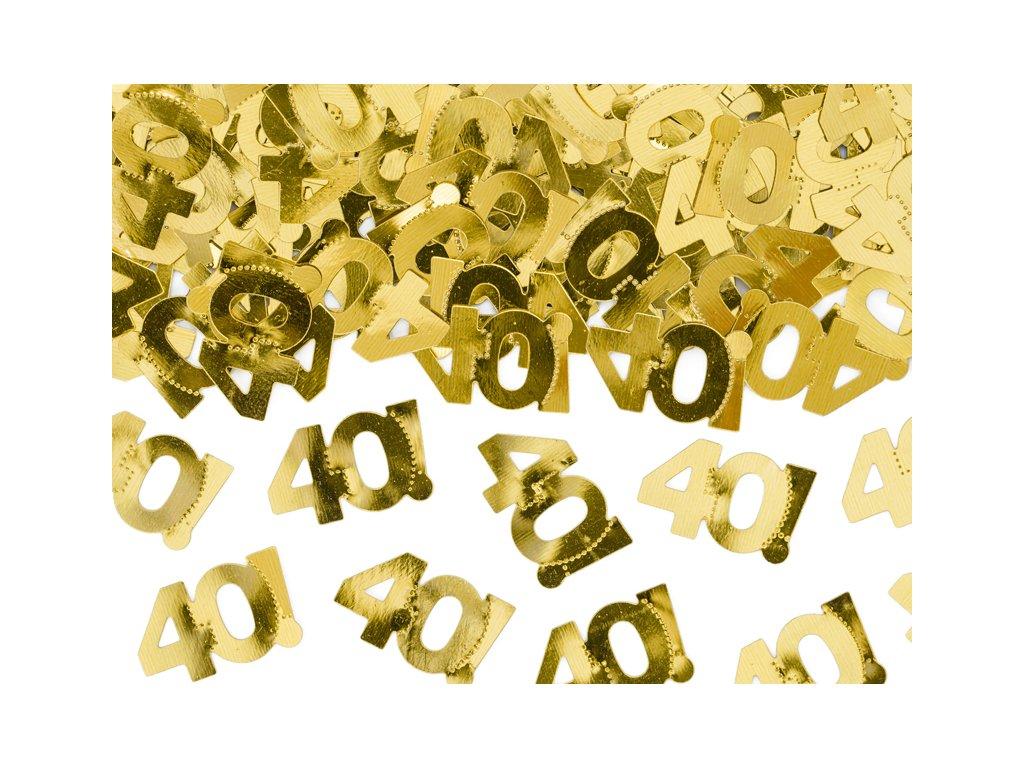 konfety na stul 40