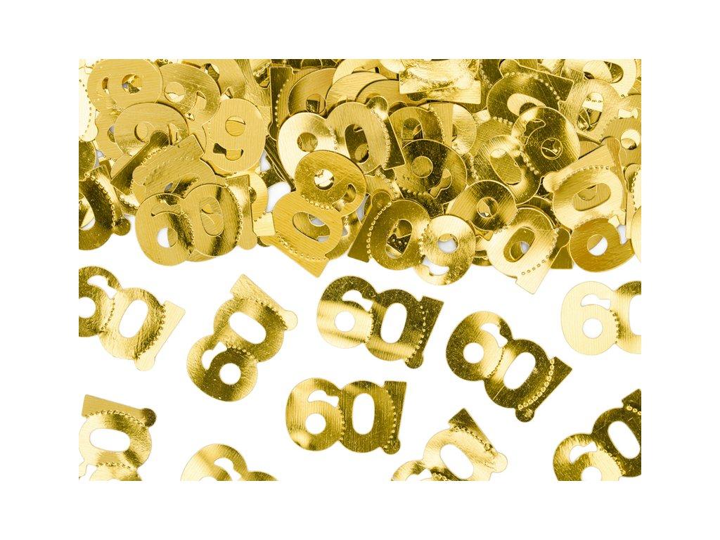 konfety na stul 60