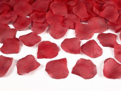 platky ruzi cervene