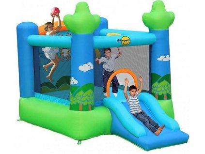 Pujcovna skakacich hradu happy hop se skluzavkou