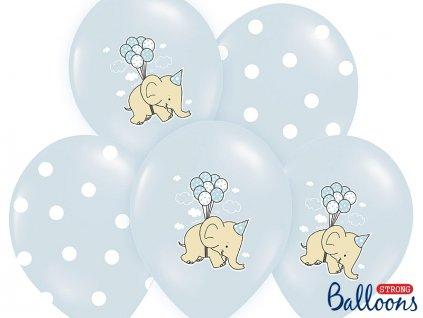 balonkova sada modr slon