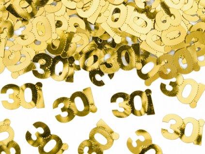 konfety na stul 30