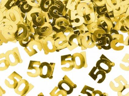 konfety na stul 50