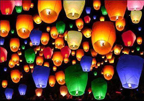 Létající lampion štěstí