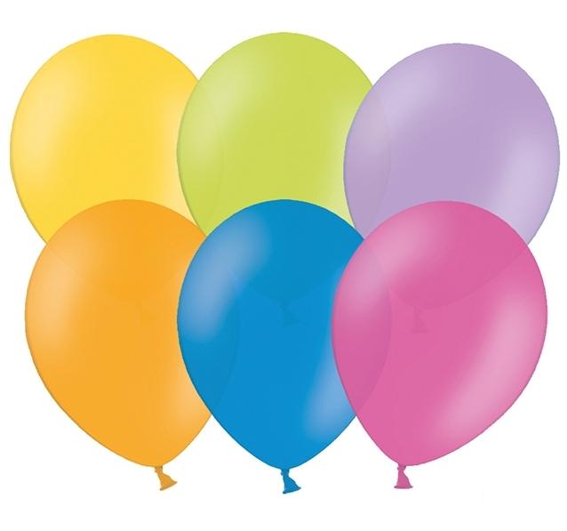 Balónky barevné