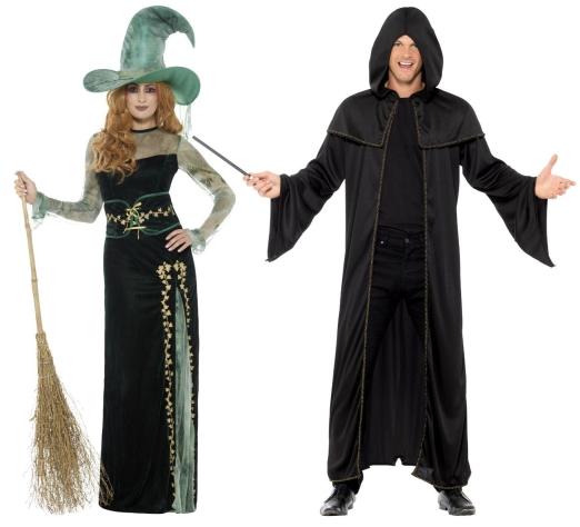 Čarodějnice a kouzelníci