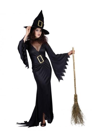Kostýmy a masky pro čarodějnice