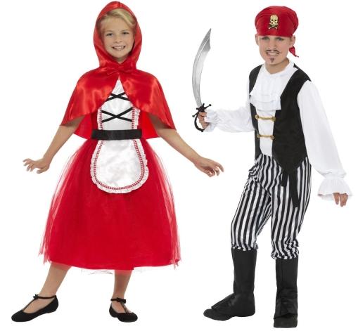 Maškarní kostýmy pro děti