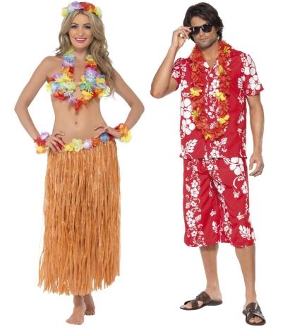 Havajská párty - hula hula
