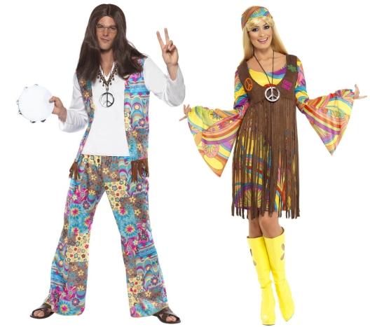 Kostýmy Hippies