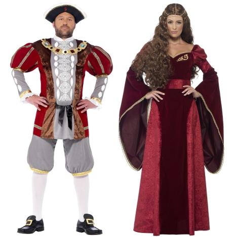 Kostýmy - historické a národní