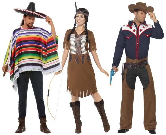 Indiáni, Kovbojové, Mexiko