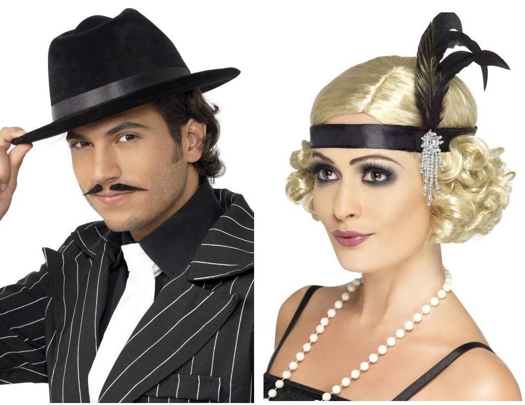 Mafiánské klobouky, charlestonové čelenky