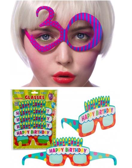 Narozeninové brýle
