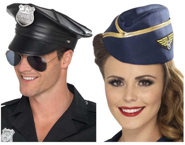 Policejní, army, pilotské