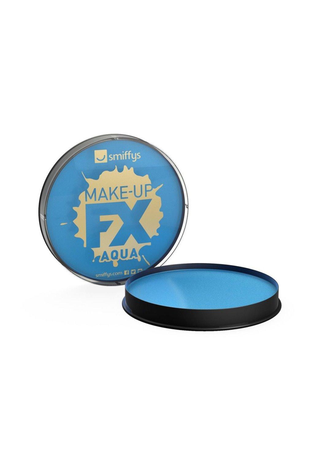 Barva na obličej a tělo - Make-up - Světle modrý