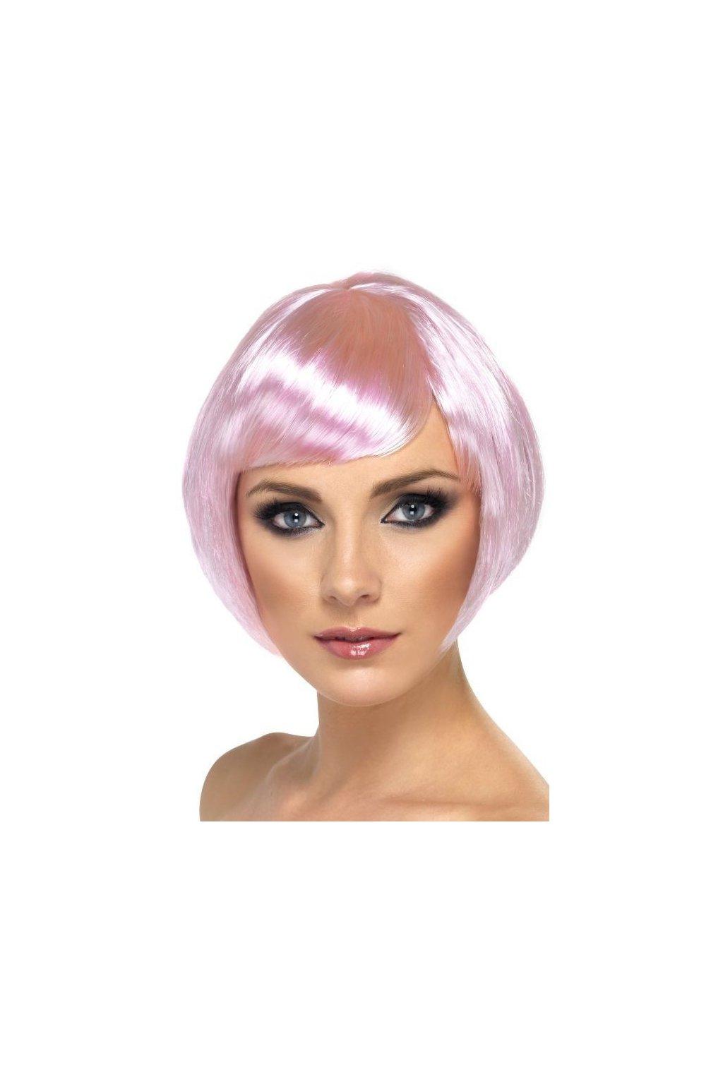 Paruka Babe růžová
