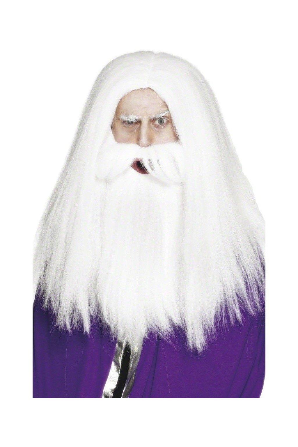 Paruka a vousy Santa - White Walker