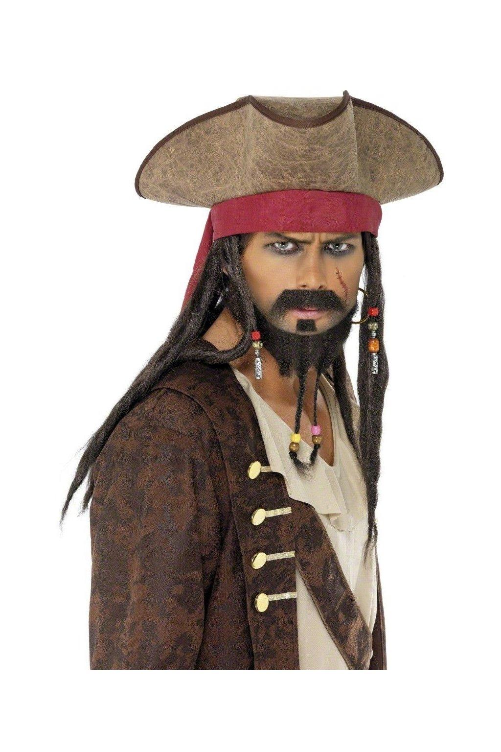 Klobouk Jack Sparrow
