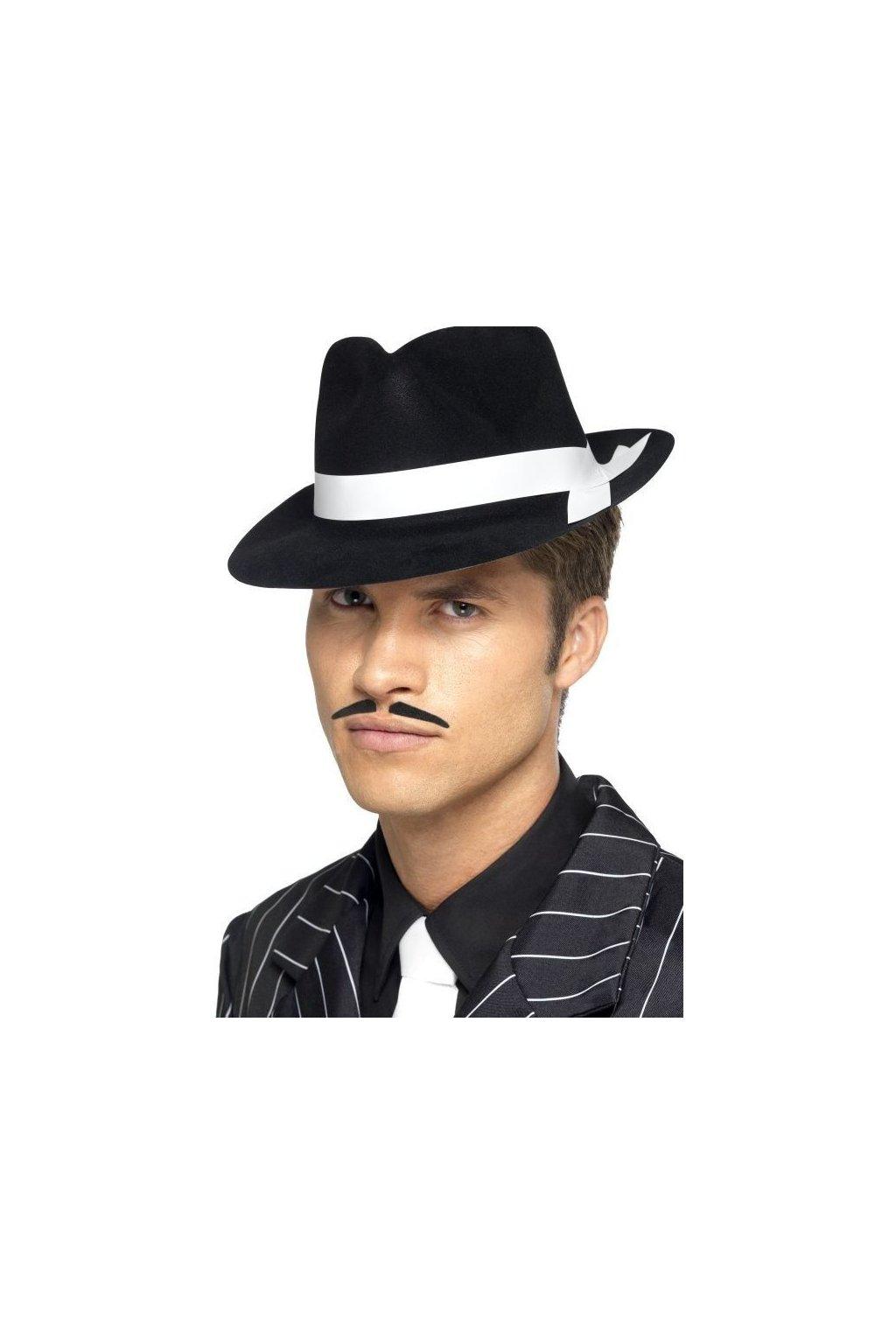 Klobouk - Al Capone - černý