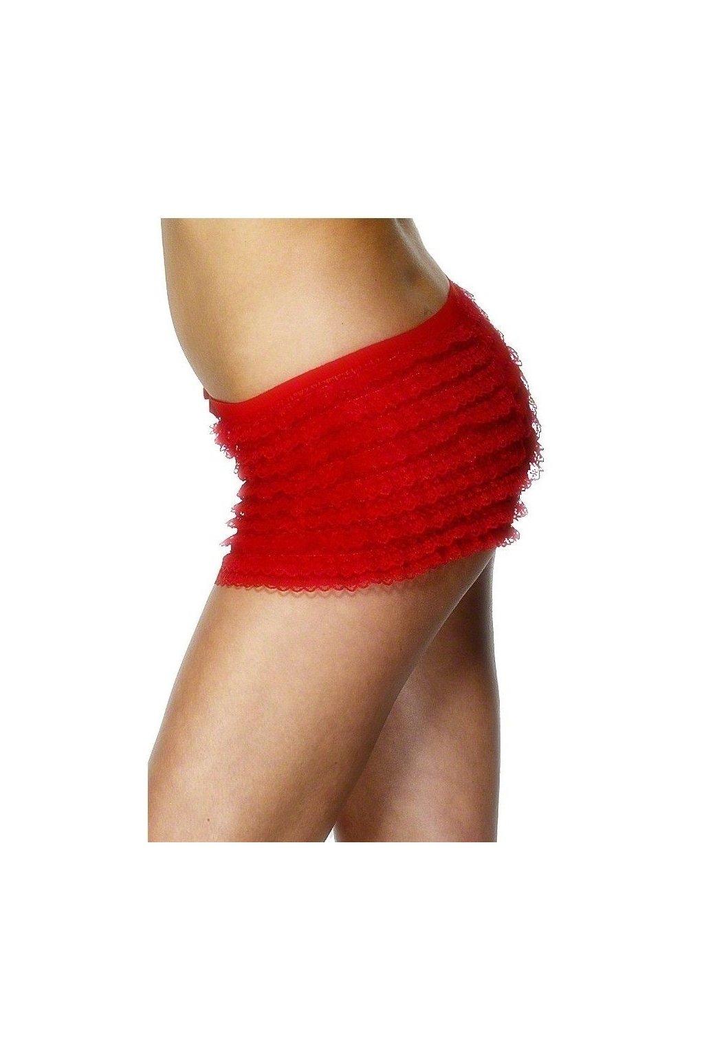 Červené sexy kalhotky