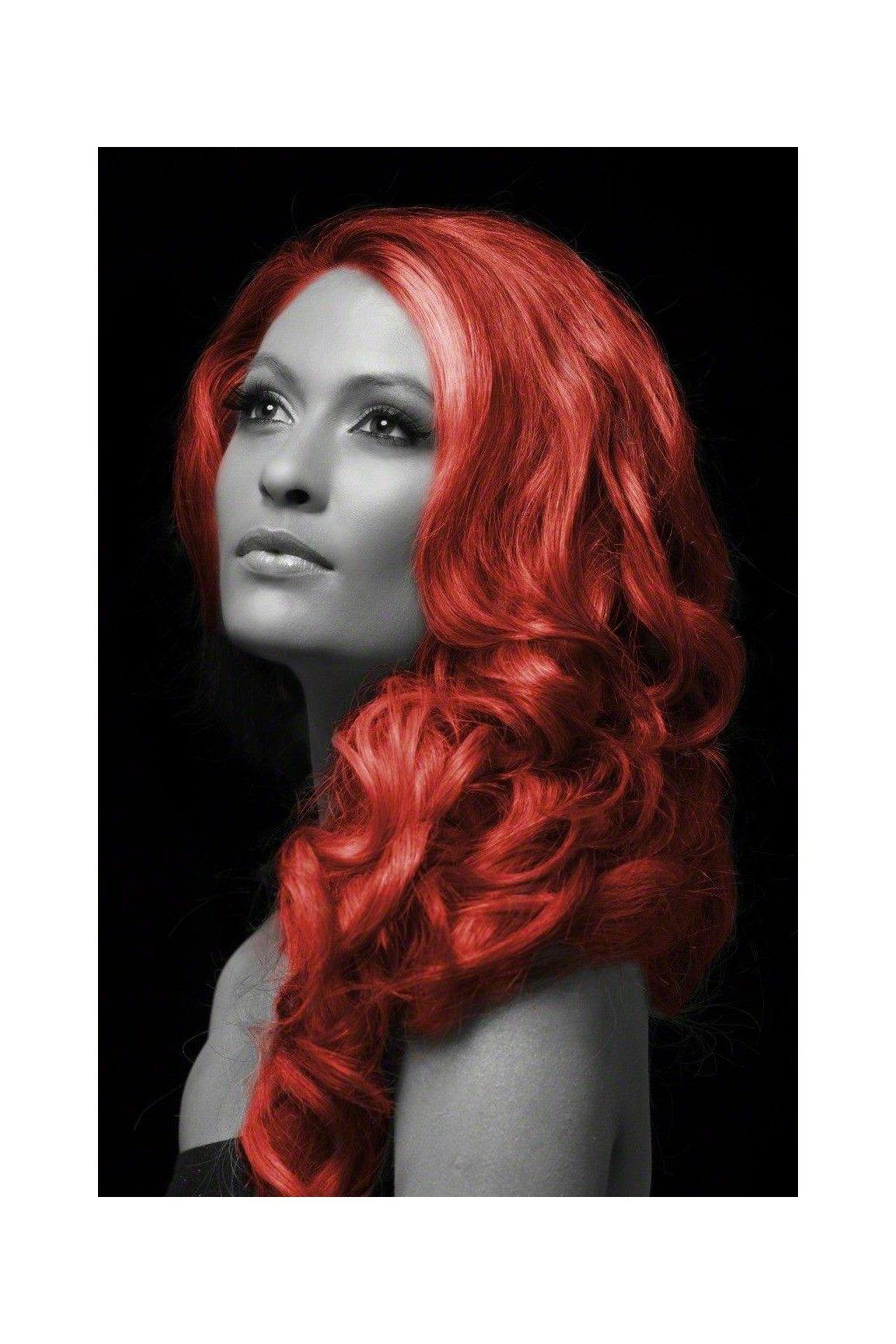 Červená barva na vlasy ve spreji