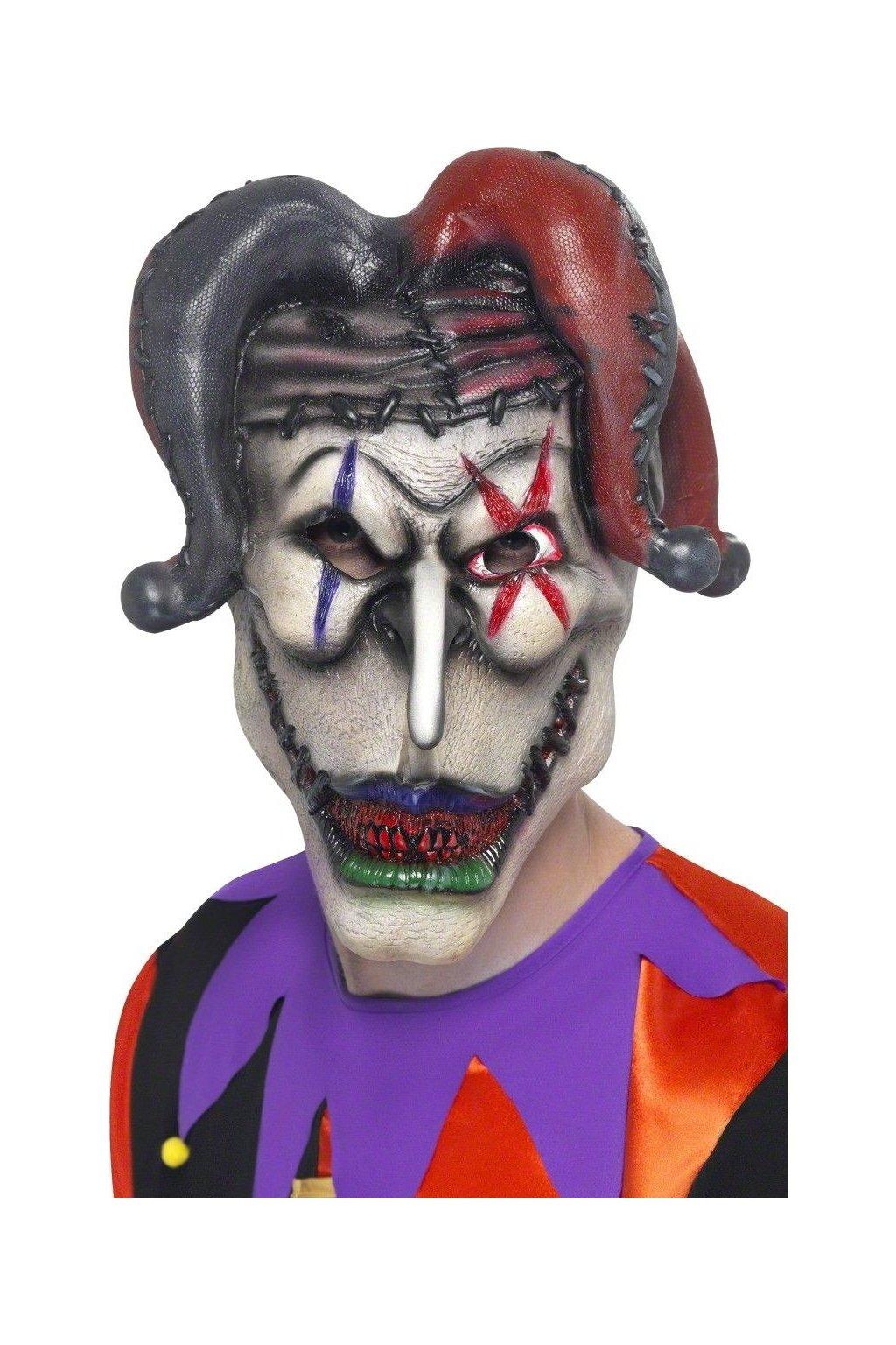 Maska zombie - Jester