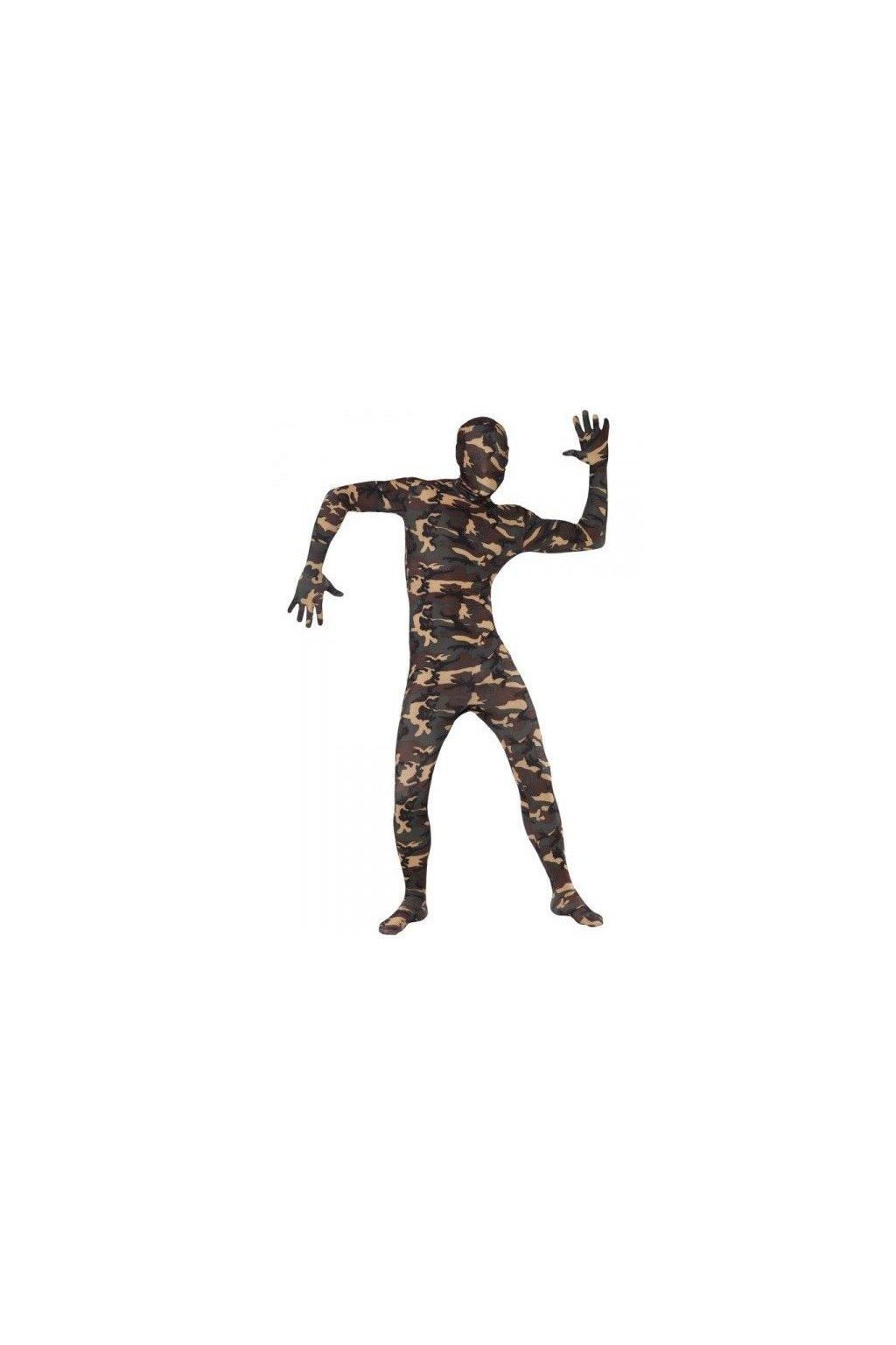 Vojenský morphsuit - maskáčový second skin