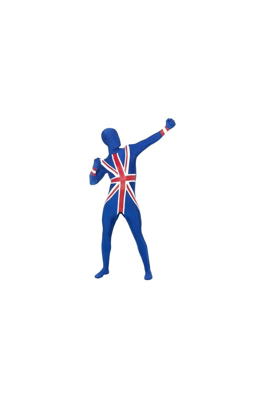 Anglický morphsuite -  Union Jack second skin
